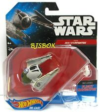 Hot Wheels Disney Star Wars YODA'S JEDI STARFIGHTER #30 Fighter Starship New NIP