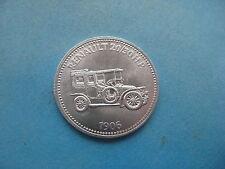 1906 RENAULT 20/30 CV AUTO SHELL COIN TOKEN