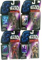 Star Wars Kenner Shadow of the empire 1996 Leia, Luke, Chewbacca, Rendar Sealed