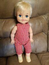 """Vintage Remco 1969 Doll Original jumpsuit. 18"""""""
