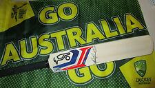 Glenn Maxwell (Australia) signed Kookaburra mini cricket bat (Blue- Bubble II)