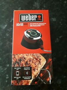 Weber 7220 iGrill Mini Bluetooth App BBQ Meat Thermometer.NEW IN SEALED BOX