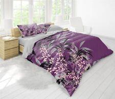 5 tlg 3D Bettwäsche Bettgarnitur Bettbezug 100% Baumwolle Kissen 200x200 cm AKLI