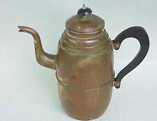 Unique Vintage Copper English Tea Pot. England.