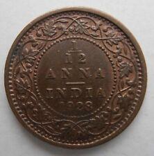 INDIA 1/12 ANNA 1928