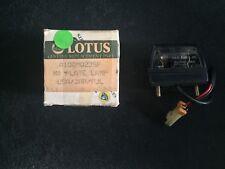Lotus Elan M100 1989-95 License Plate Lamp USA JAP AUL A100M0235F NOS OEM NEW