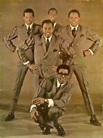 THE TEMPTATIONS 1967 CONCERT PROGRAM TOUR BOOK BOOKLET-KENDRICKS AND RUFFIN