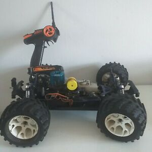 GS Racing Storm Buggy / Truck 1/8th Nitro Engine + FS-GT2 Transmitter