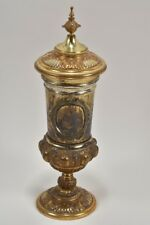 i16w22- Historismus Pokal, 800 Silber vergoldet