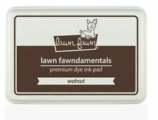 """Lawn Fawn  """"Fawndamentals""""  Premium Dye Ink Pad ~ WALNUT  Brown  ~LF867"""