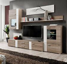 Mueble de salón Monica color truflowy/blanco