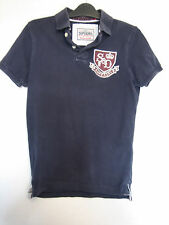 MENS OFFICIAL SUPERDRY POLO  SHORT SLEEVE T-SHIRT   SIZE SMALL