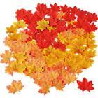 Artificial Autumn Decorations Leaf Garland Pumpkins Maple Leaf Wreath Fall Decor