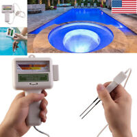 Portable pH Chlorine Level Meter Water Quality Tester Monitor Swimming Pool Spa