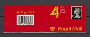 s16737) UK GREAT BRITAIN 1988 MNH** Booklet 1st x4