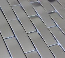 3D arch stainless steel metal mosaic tile kitchen backsplash bathroom shower