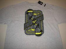 "Adidas ""Fresh Never Fades"" T-Shirt Ash Grey Men's 2XL BNWT FREE SHIPPING!"