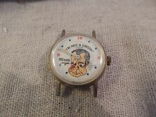 "Vintage Richard M. Nixon ""I'm Not a Crook"" Watch Face Honest Time Co HTF"
