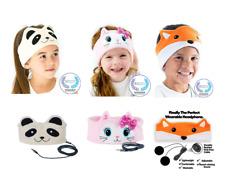 CozyPhones Kids Headphone Soft Headband Animals Volume Ltd Toddler Travel School