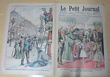 Le petit journal 674 (1903) visite roi et reine d'italie en france