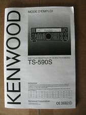 Kenwood TS-590S Operators Manual (in FRENCH)