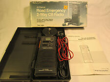 Vintage Realistic 40-Channel Road Emergency 2-Way Cb Radio Trc-409 [j11]