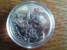 france 10 euros argent 2012 aquitaine