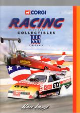 CORGI RAGING DIECAST COLLECITBLES 1995 FIRST HALF CATALOGUE RACE IMAGE