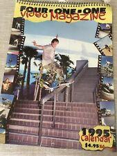 411 1995 skateboarding calendar