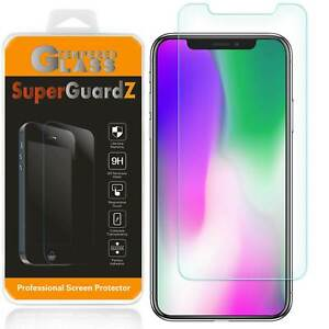 3X SuperGuardZ Tempered Glass Screen Protector For iPhone XS / XS Plus / XR / X