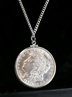 Sterling  Silver incased  1921 Liberty Coin Pendant.