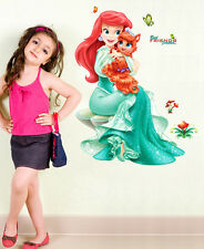 57000221 | Wall Stickers Pretty Princes with Cute Little Cat