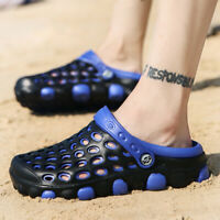 Men's Athletic Water Shoes Beach Swim Sandals Hole Casual Sneakers Slip On Hot