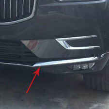Chrome Front Lower Grill Bumper Moulding Cover Trim For VOLVO XC60 2018 2019 SUV