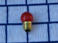 7 & 1/2 watt Red S11 sign, scoreboard & night Light Bulb 7.5S11 medium base E26