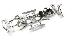 C26936SILVER Ladder Frame Chassis Kit w/Hop-up Combo for SCX-10, Honcho & Jeep
