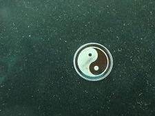 Yin Yang Symbol 1 Gram .999 Pure Silver Round Coin Bar Bullion Sun Moon  Balance