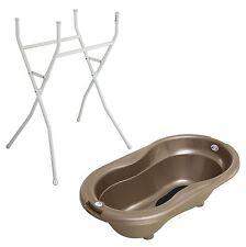 Rotho Babydesign Badewannenständer mit TOP Badewanne Taupe Perl NEU