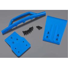 RPM Traxxas Slash 4x4 Front Bumper & Skid Plate (Blue) RPM80025