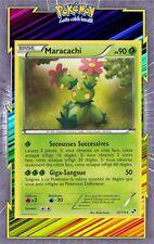 Maracachi - N&B: Noir et Blanc - 12/114 - Carte Pokemon Française Neuve