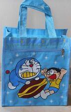 Sac enfant  bleu  clair DORAEMON avec boy, chat manga Neuf