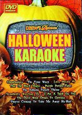 Drew's Famous HALLOWEEN KARAOKE: VIRTUAL PARTY DVD w/ CLASSIC SCARY MOVIE SCENES