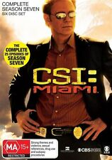 CSI: Miami : Season 7 (DVD, 2011, 6-Disc Set) - Region 4