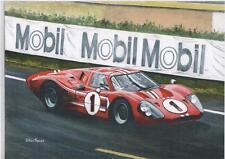 Dan Gurney, GT40, Le Mans 1967 Art Print