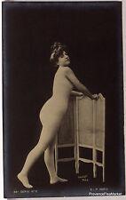 CPA  POSTCARD PHOTO FEMME NU ARTISTIQUE ACADEMIQUE 1900   Lae798