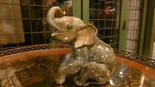 Rosenthal porcelain figure of an seated elephant H1195 prof. Theodore Karner