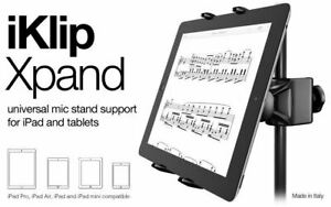 IK Multimedia iKlip Xpand / Univ. Mic Stand Support for iPad & Tablets