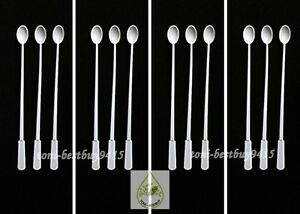 "Micro Spoon 5"" for Feeder Food Guppy Tetra Killifish and Small Fish 12 pcs"