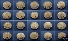 manueduc   Las 20 monedas  2 EUROS 2009 Conmemorativas  UEM 5 de Alemania NUEVOS