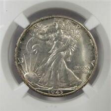 1943-S Silver Walking Liberty Half Dollar NGC MS65 Coin AI929